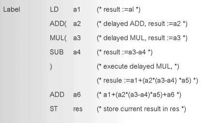 Instruction List Language (Statement List Language)